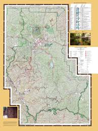 Phoenix Road Map by Coconino National Forest Maps U0026 Publications