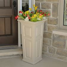 Tall Rectangular Planter by Decor Tall Planters Large Indoor Planters Rectangle Planter Box
