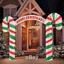 sale outdoor lighted 10ft merry sign archway