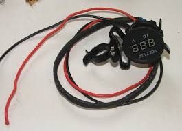 motorcycle voltmeter 8 steps with pictures
