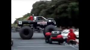 monster truck crash videos youtube best of monster truck fails truck crashes youtube