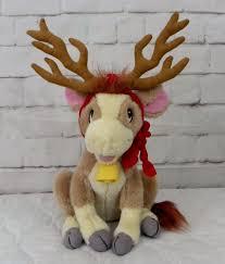 christmas annabelle s wish 1997 annabelles wish 12 reindeer cow christmas plush stuffed