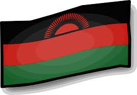 Flying Flag Clipart Artsy Malawi Flag