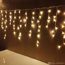String Lamps Cheap New Style 12m X 0 75m 432 Led Curtain Icicle String Lights