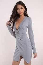 grey bodycon dress bodycon dress sleeve dress grey dress 29 tobi us