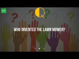 Who Invented The Bench Press Who Invented The Lawn Mower Youtube