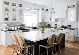 black kitchen islands black kitchen island with philippe starck kong counter stools