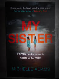 my sister by michelle adams misti moo book review