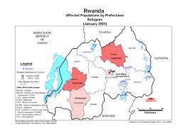 Rwanda Map Rwanda Ecoi Net European Country Of Origin Information Network