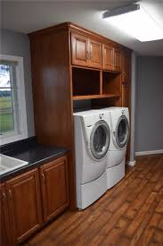 Countertop Clothes Dryer Custom Laundry Room Cabinet U0026 Storage Solutions Ds Woods Custom