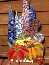 sunflower mosaic flowers flora mosaics pinterest mosaic