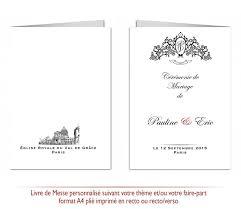 messe de mariage kellygraphic votre mariage 100 personnalisé livrets de messe