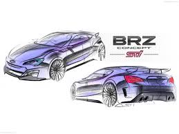 subaru brz boxer engine subaru brz sti concept 2011 pictures information u0026 specs