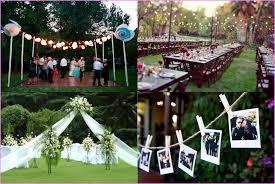 Summer Backyard Wedding Ideas Backyard Wedding Ideas For Summer Home Design Ideas
