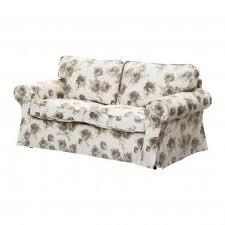 Ektorp 2 Seater Sofa Bed Cover Ektorp 2 Seat Sofa Slipcover Loveseat Cover Norlida Beige White