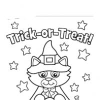 halloween coloring pages print 2 bootsforcheaper