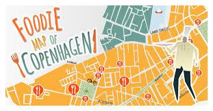 map of copenhagen a foodie map of copenhagen expedia dk