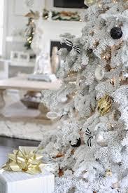 tiffany leigh interior design oh flocked christmas tree