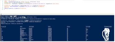 powershell managing service s using wmi cim and get service