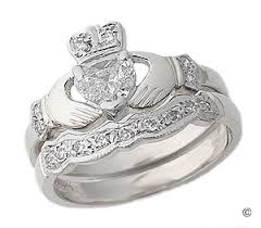 claddagh wedding ring sets claddagh engagement wedding ring set i always dreamed