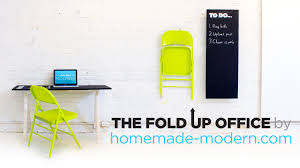 homemade modern ep 24 diy the fold up office youtube