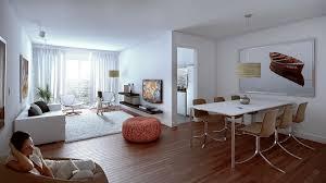kitchen elegant living dining kitchen room design ideas