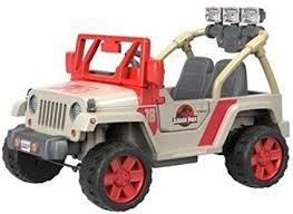 jurassic world jeep amazon com power wheels jurassic world jeep wrangler toys games