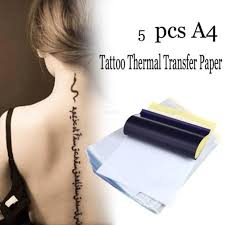 spirit master thermal transfer paper tattoo stencil 25