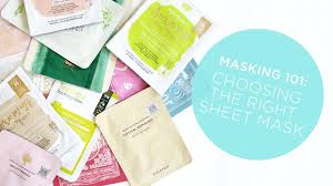 How To Pick Sheets Mask 101 How To Choose The Best K Beauty Sheet Mask Youtube