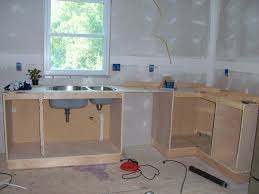 kitchen building kitchen cabinets in marvelous how to build a