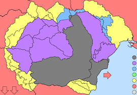 Map Of Romania Optimal Romania Post World War One Borders Survey Alternate
