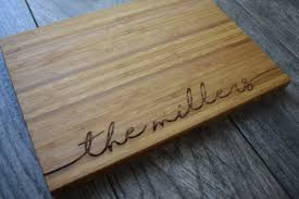 cutting board wedding gift personalized cutting board wedding gift for cutting