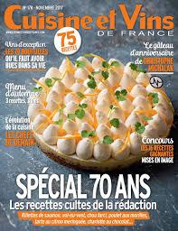 cuisine et vie cuisine et vins de novembre 2017 pdf magazines archive