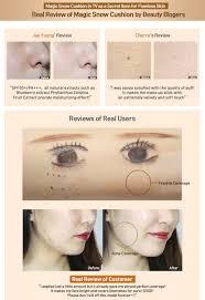 Bedak Skin Malaysia review april skin magic snow cushion spf 50 pa han makeup