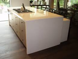 Custom Kitchen Island Cost Kitchen Concrete Kitchen Island Intended For Fantastic