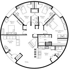 round house plans floor plans these plans are even better i d want more windows along the dining