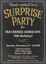 75th birthday invitations 50 gorgeous 75th party invites