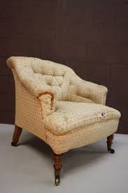Antique Upholstered Armchairs Antique Howard U0026 Sons Upholstered Armchair Antiques Atlas