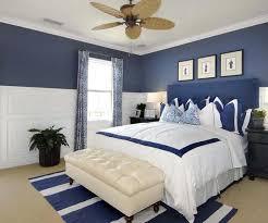 maritimes schlafzimmer schlafzimmer in weiß und blau einrichten - Maritimes Schlafzimmer