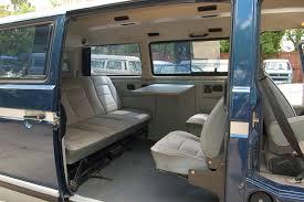 westfalia volkswagen interior 1990 vw vanagon carat 22 500