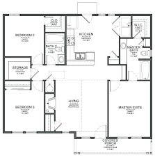 3 bedroom house plans 3 bedroom floor plans homes processcodi com