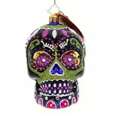Christopher Radko Halloween Ornaments Christopher Radko Drop Dead Gorgeous Glass Ornament Sbkgifts Com