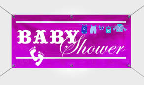 baby shower banners custom baby shower banners baby banners circleone
