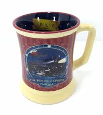 polar express train ride believe mug chocolate warner bros 12