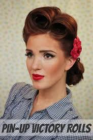 swing hairstyles 31 best vintage hairdos for swing dancing images on pinterest