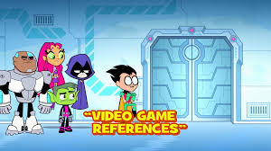 video game references teen titans go wiki fandom powered by wikia