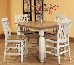 White Wash Table And Chairs Dining Room Hutches Styles White Pub Table And Chairs White Pub