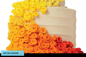 york wedding guide reception colorful cakes
