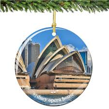 sydney opera house ornament australian