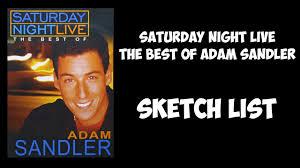 rodney dangerfield halloween mask snl the best of adam sandler 1999 sketch list youtube